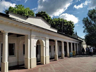 Former Market Stalls built in 1836