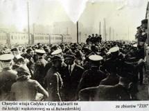 Tzadik's arrival in Warsaw