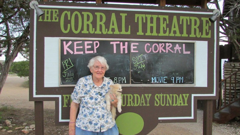 Ms. Mary - Owner of the Corral since 1948
