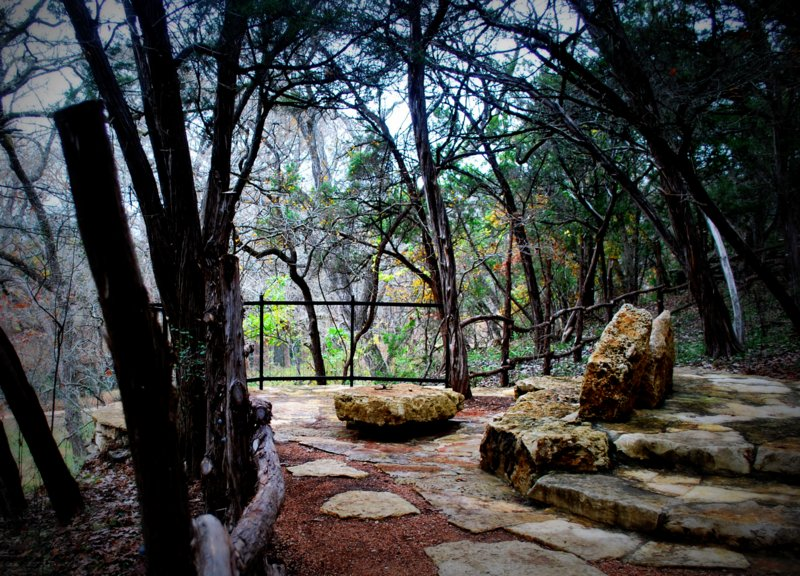 A Romantic Spot at Blue Hole Trail Wimberley