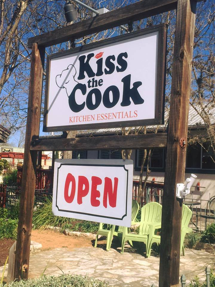 Kiss the Cook - Wimberley Downtown Shopping