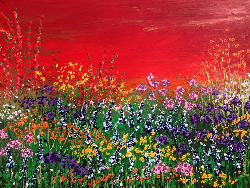 Paintings of Texas Wildflowers from Linda Calvert Jacobson