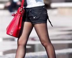 【街撮り盗撮画像】気温が下がり黒パンストを履く女子急増ww美脚に似合うパンスト素人を隠し撮りww