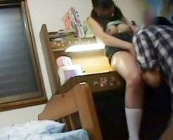 【家庭内盗撮動画】胸ばかり育っている生徒に我慢出来なくなった家庭教師が娘をレイプした一部始終…