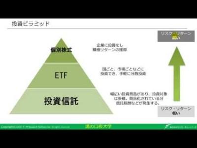 投資2. 投資種類とコスト
