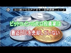 ビットコインの大口投資家は最近BTCを売却していないーAdaptive Capital投資ヘッド【仮想通貨・暗号資産】