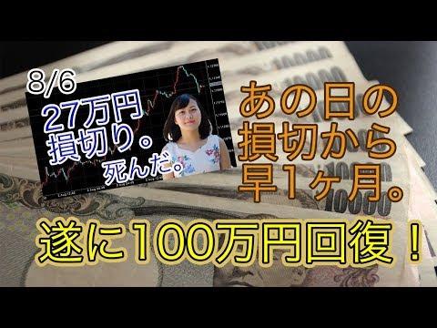 【ライブ配信】2019年9月3日 FXで100万円を200万円にする!