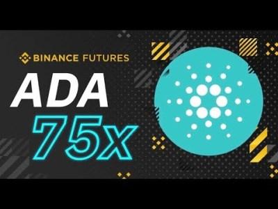 バイナンスで仮想通貨カルダノADAのレバレッジ75倍先物取引スタート!たかっさんの暗号資産ライフ
