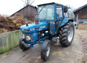 tracteur Ford 4110
