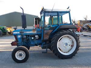 tracteur Ford 6410