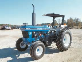 tracteur Ford 6610S