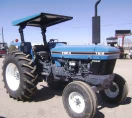 tracteur Ford 7610