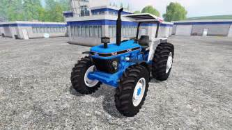 tracteur Ford 7630