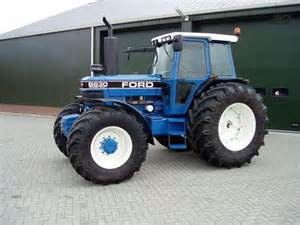 tracteur Ford 8630