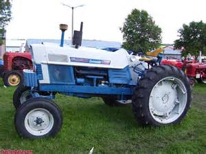 tracteur Ford COMMANDER 6000
