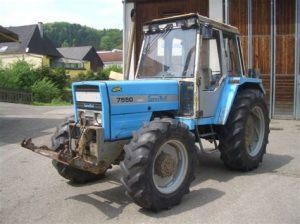 tracteur Landini 7550