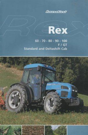 tracteur Landini REX 60