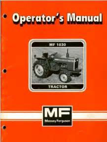 tracteur Massey Ferguson 1030