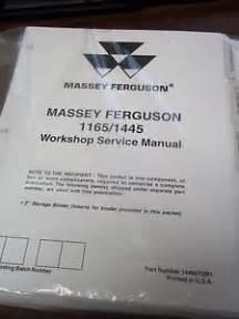 tracteur Massey Ferguson 1165