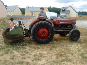 tracteur Massey Ferguson 184-4