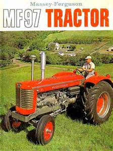tracteur Massey Ferguson 97