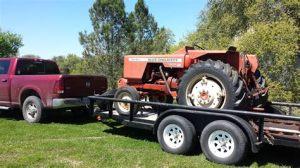 tracteur Allischalmers 160