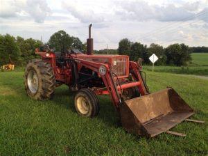 tracteur Allischalmers 175