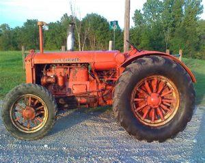 tracteur Allischalmers 25-40