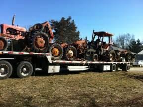 tracteur Allischalmers 7010