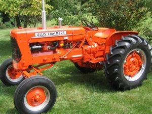 tracteur Allischalmers A