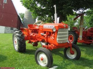 tracteur Allischalmers D12