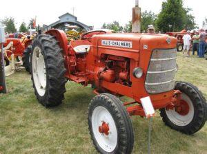tracteur Allischalmers FD4