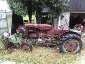 tracteur Allischalmers HD10W