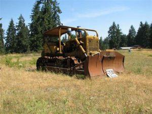 tracteur Allischalmers HD21