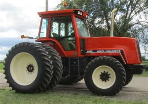 tracteur Allischalmers S