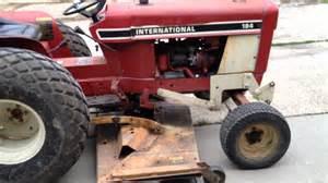 tracteur IH 184 LO-BOY