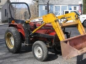 tracteur IH 254