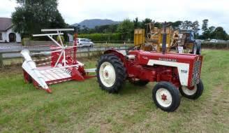 tracteur IH 483
