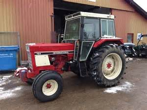 tracteur IH 784