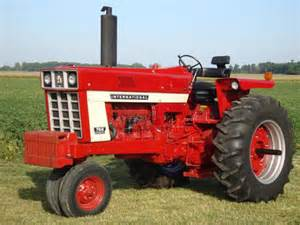 tracteur IH A-766