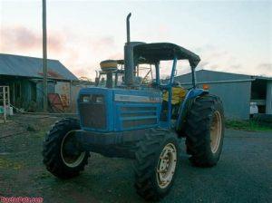 tracteur Iseki T7000