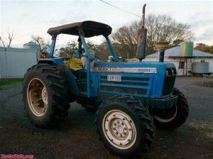 tracteur Iseki T9510