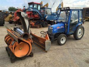 tracteur Iseki TF330
