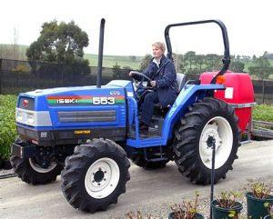 tracteur Iseki TK527