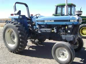 tracteur New Holland 7810S