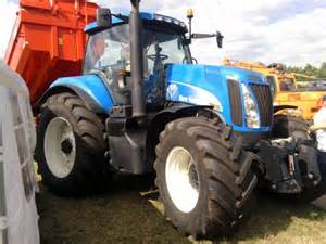 tracteur New Holland 8030