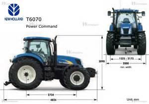 tracteur New Holland T6080 ELITE
