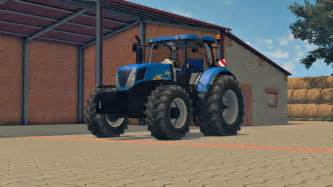 tracteur New Holland T7040