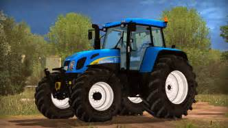 tracteur New Holland T7550