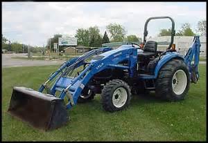 tracteur New Holland TC45